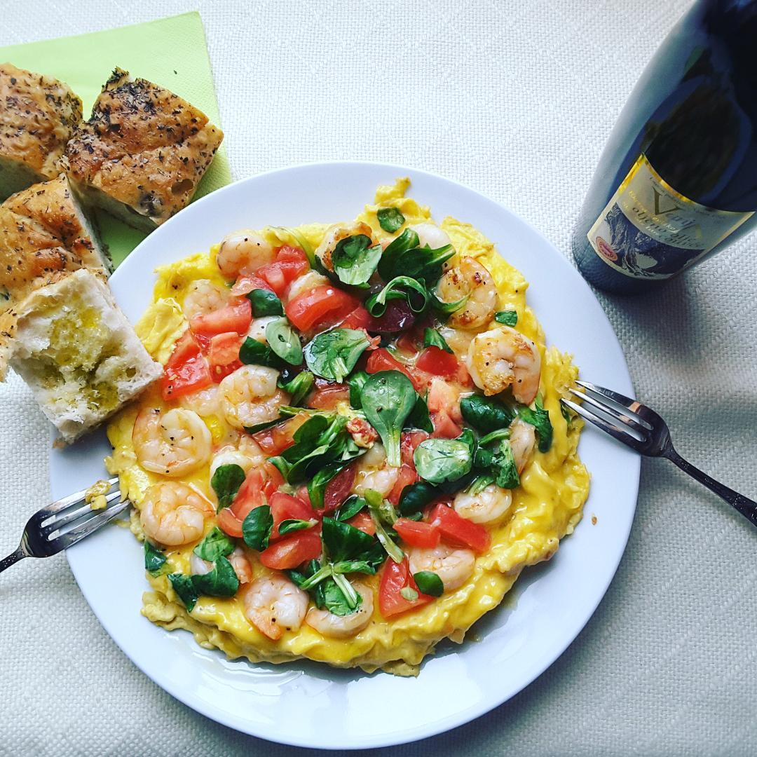 Omlet à la NOEV ze słoweńską Vanja Dujc