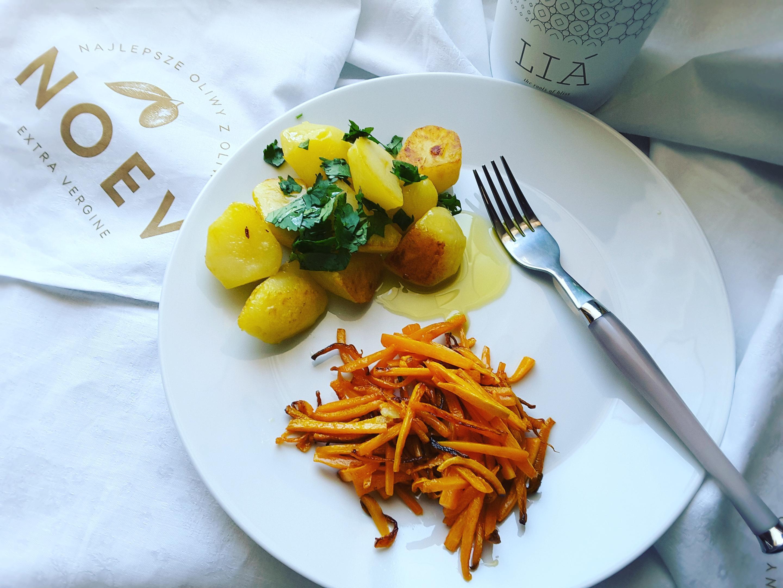 Vege, czyli smażona marchewka z grecką Lia